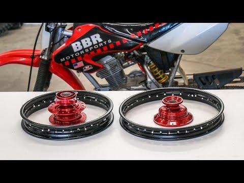 Powder Coating Dirt Bike Wheels At Home!
