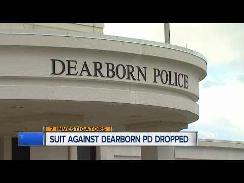 Suit dropped against Dearborn police
