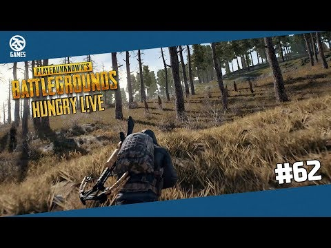 PUBG #62 - Hungry Live PART II / w Chabinho /w DoggyAndi