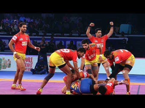 Vivo Pro  Kabbadi :- बेंगलुरु बुल्स ने गुजरात फार्च्यूनजायंट्स को 38-33 से हराकर पहला खिताब हासिल किया।