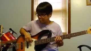 Về Lại Phố Xưa - Ngọc Liên : bass cover