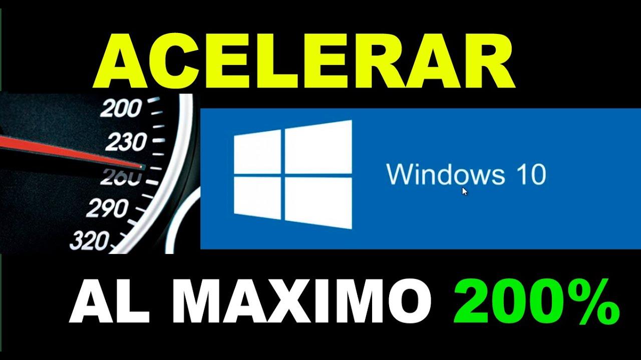 Acelerar Arranque Y Apagado De Windows 10 Al Maximo 2018 Youtube