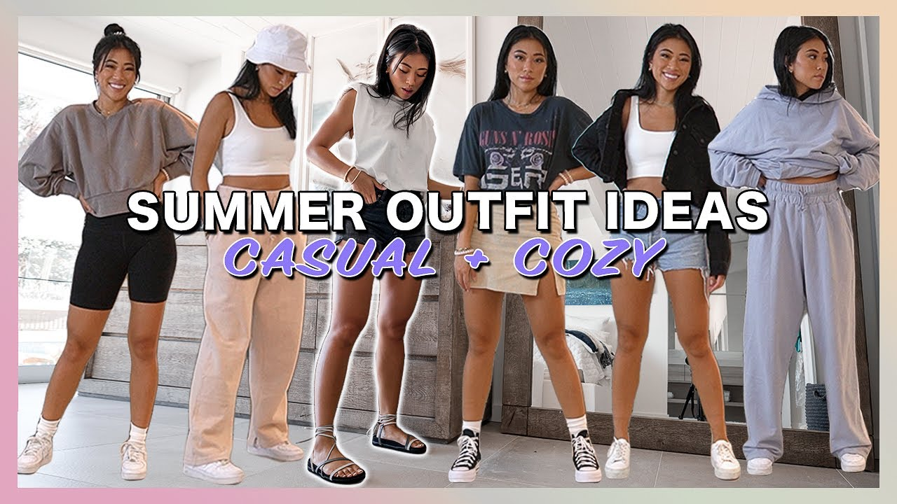 Casual Summer Outfit Ideas | Fashion Lookbook 2020 // Aritzia, Cold Laundry + More