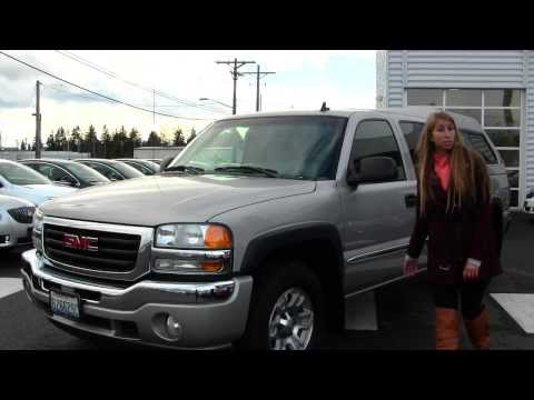Virtual Walk Around Tour Of A 2006 GMC Sierra SLT At Gilchrist Chevrolet Buick GMC In Tacoma, WA Gt4