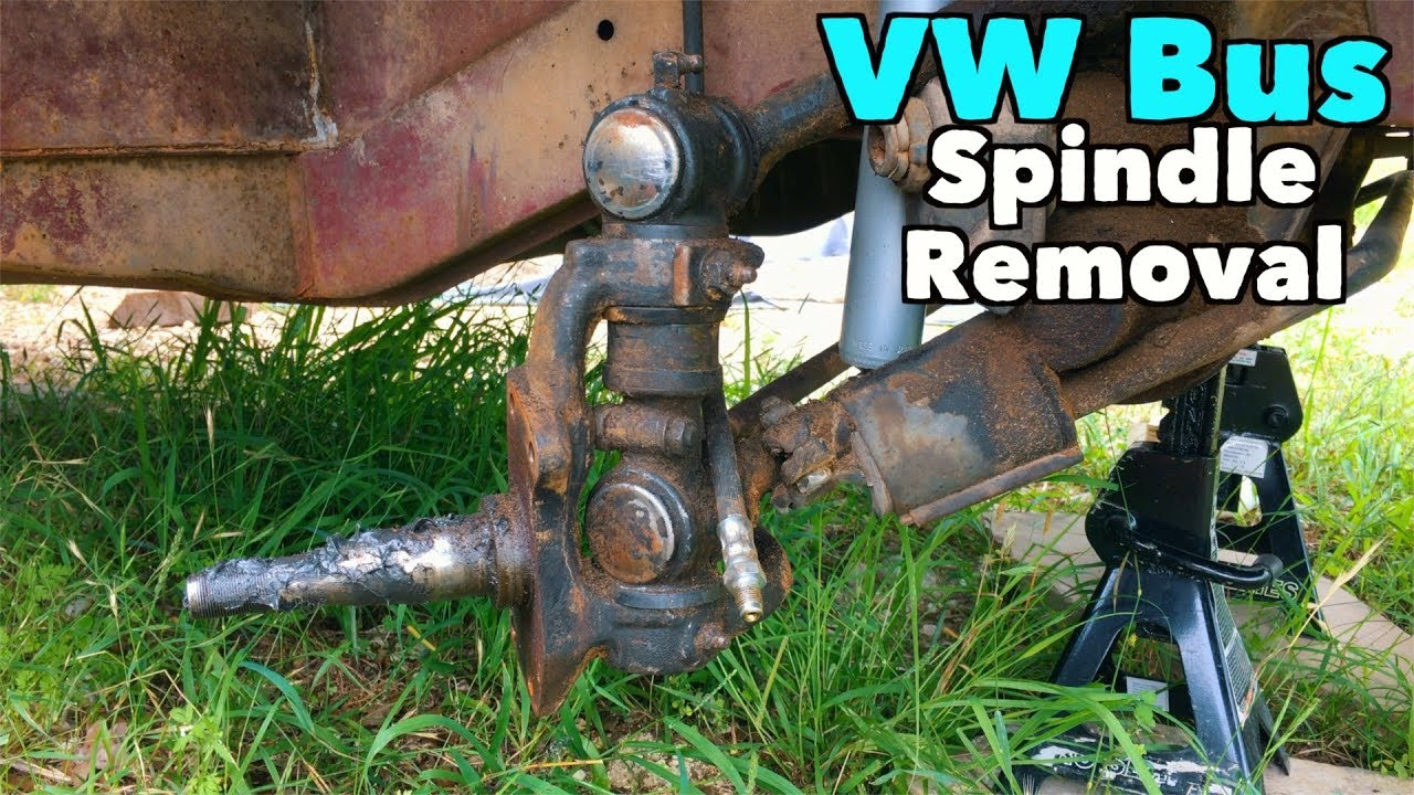 VW Bus - Spindle Removal   MicBergsma