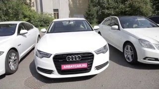 Машины на свадьбу Audi / Ауди