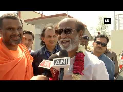 """Will pray to God, he will be alright"": Rajinikanth on Amitabh Bachchan's health"