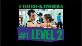 КИЗОМБА УРОК №1 (уровень 2) / KIZOMBA LESSON №1 (level 2) / обучение НОВОСИБИРСК