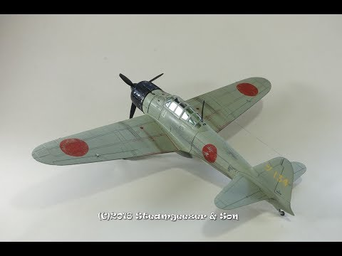 Building the Airfix 1/72 Mitsubishi A6M2b Zero