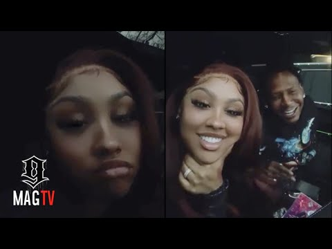 Ari Fletcher Nags Moneybagg Yo About Going Back To The Restaurant!