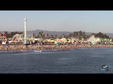 Wrapping Up a Day at the Santa Cruz Beach Boardwalk: Coaster Vlog #237