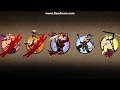 Shadow Fight 2  SHADOW vs LILY, LUMBERJACK, VIXEN, PLAGUE, OLDMAN [ 1 on 5 enemies   random weapon ]