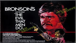 The Evil That Men Do 1984  *Charles Bronson*
