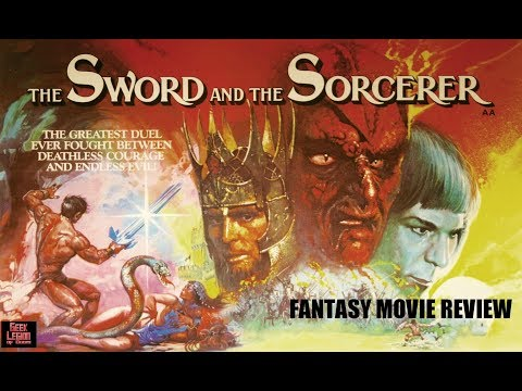 THE SWORD AND THE SORCERER ( 1982 Lee Horsley ) Fantasy Movie Review
