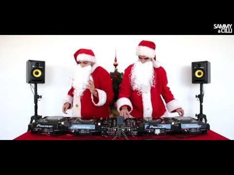 Sammy & Cilli - Mixing 25 songs in 3 minutes - CHRISTMAS EDITION