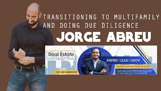 Jorge Podcast Appearances - Real Estate HomeRuns Podcast with Luis Vanderhorst