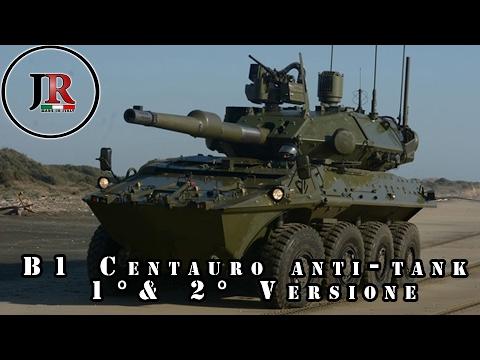 Parliamo del B1 Autoblindo Centauro - 1° & 2° versione / Esercito Italiano
