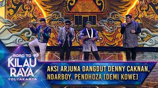 Pecah Aksi Arjuna Dangdut Denny Caknan Ndarboy Pendhoza Demi Kowe Road To Kilau Raya Yogyakarta MP3