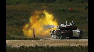 Guess Who Won Tank Biathlon at Russia