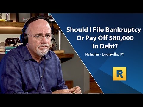 Should I File Bankruptcy Or Pay Off $80,000 In Debt?