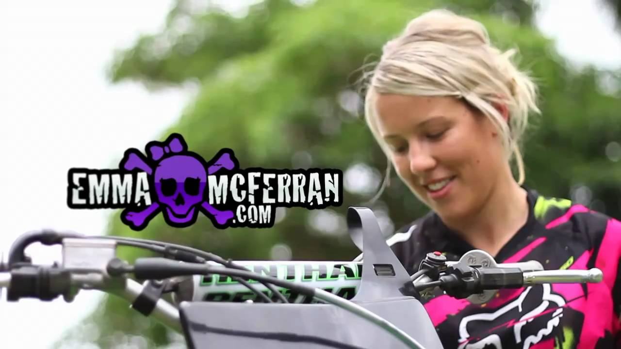 Emma Mcferran Australia S First Female Fmx Rider Youtube