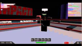 TNA Wrestling Roblox Style: The Pope vs Joe