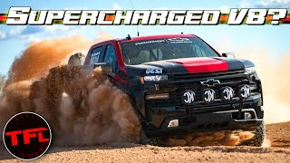 Leaked - Is Chevy Building a Supercharged V8 Silverado ZRX Raptor Killer? No, You're Wrong!