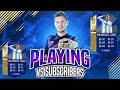 THE BEST MIDFIELDER IN FIFA 18 IS HERE!! CAN I GET BEATEN BY MY SUBSCRIBERS?
