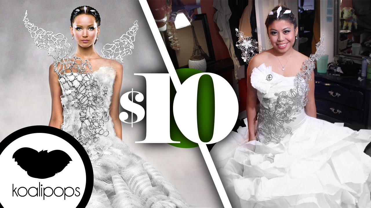 The Hunger Games: Katniss Everdeen\'s Wedding Dress | $10 Costume ...