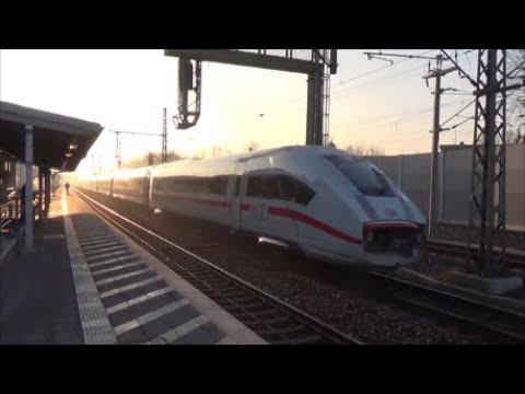 Züge Trains ICE's, Vectron u.a. am  Bahnhof Winsen an der Luhe