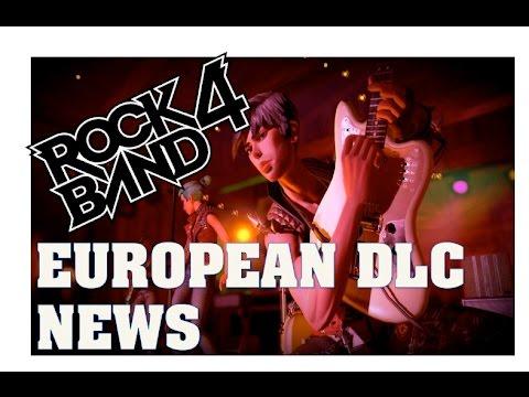 Rock Band 4 News PS4 European DLC Song List Update