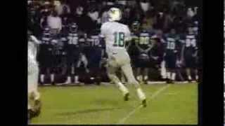 Peyton Manning Showing The Moves In High School