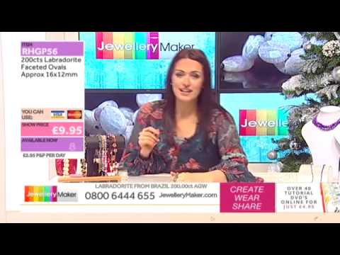 How to Make Jump Ring Jewellery using Jump Rings: JewelleryMaker LIVE 22/11/2014