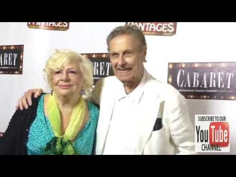 Renee Taylor and Joseph Bologna at the Opening Of Cabaret At Hollywood Pantages Theatre