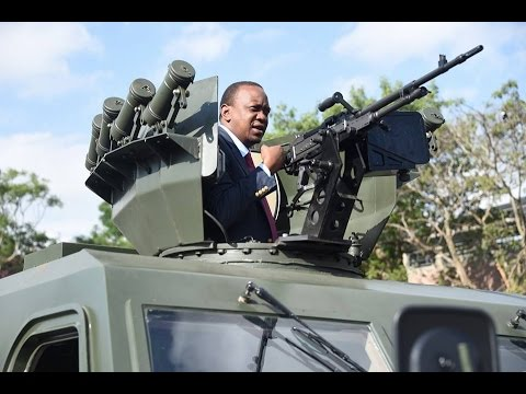 President Kenyatta flags off armoured vehicles in key security step