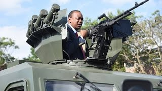 President Kenyatta flags off armoured vehicles in key security step