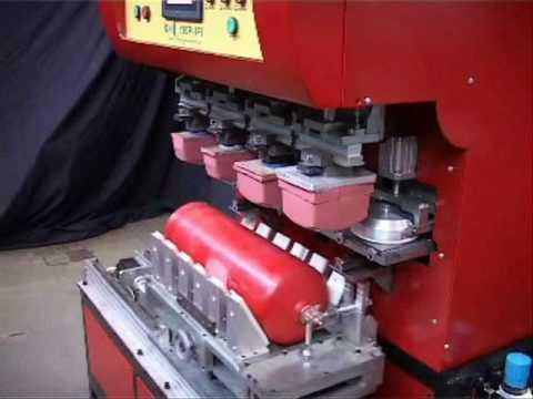 Kinnari pad printer Closed Cup Pad Printing Machine Model KIN C 140 P 4C IPS