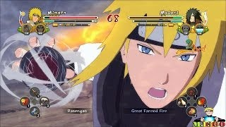 Naruto: Ultimate Ninja Storm 3: FULL BURST PC Mods Captain Minato Vs Elder Madara