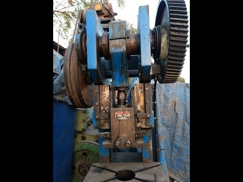Second Hand Power Press Machine Ahmedabad Gujarat 75 Ton