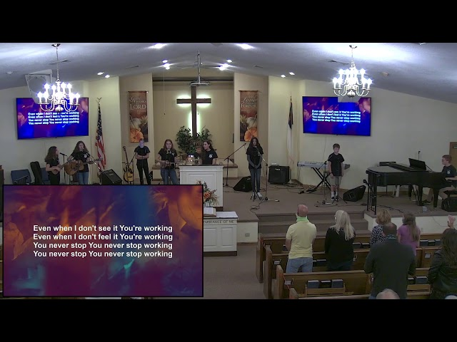 Calvary Baptist Church:  Sunday, 11 October, 2020