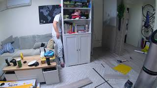 dHSHOP 精選歐巴地板 DIY 縮時攝影