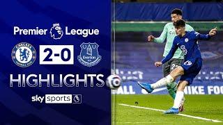 Havertz dazzles in Chelsea victory | Chelsea 2-0 Everton | Premier League Highlights