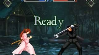 Rurouni Kenshin MUGEN Playthrough with Himura Battousai