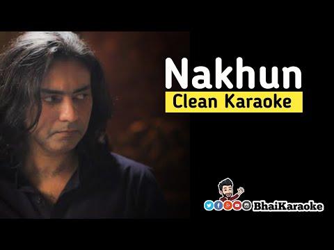 nakhun-karaoke-|-sajjad-ali|-bhaikaraoke