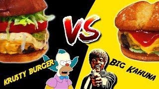 ℗ Krusty Burger VS Big Kahuna |  SuperPilopi
