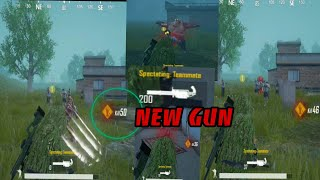 PUBG 0.11 New gun and zombie survival gameplay