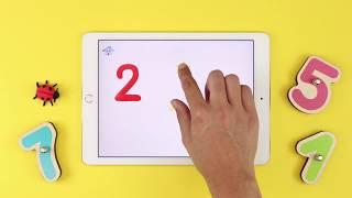 Aprender los números con la tablet: Smart Numbers
