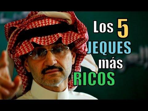 Los 5 JEQUES ÁRABES más RICOS del mundo