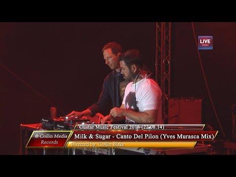 Milk & Sugar - Canto Del Pilon (Yves Murasca Mix) (Live @ Gustar 2014) (22.08.14)