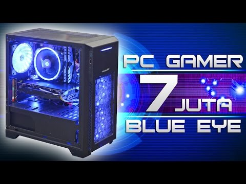 #39 PC GAMER 7 JUTA Blue Eyes KEREEN ABISS